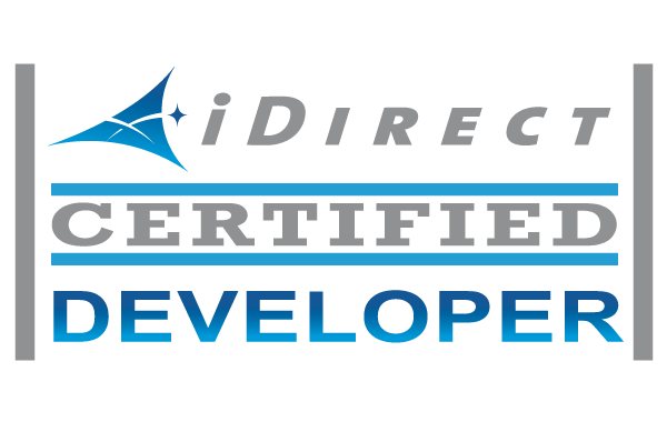We are a certified developer partner of iDirect