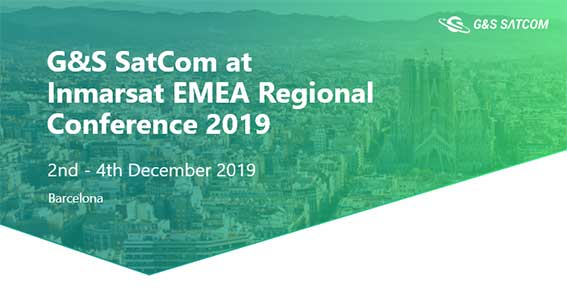 "G&S SatCom at LinkedIn about ""Inmarsat EMEA Regional Conference 2019"""