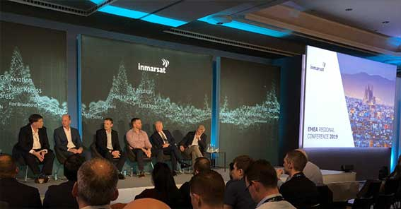 "G&S SatCom at LinkedIn about ""Regional partner conference with Inmarsat in Barcelona"""