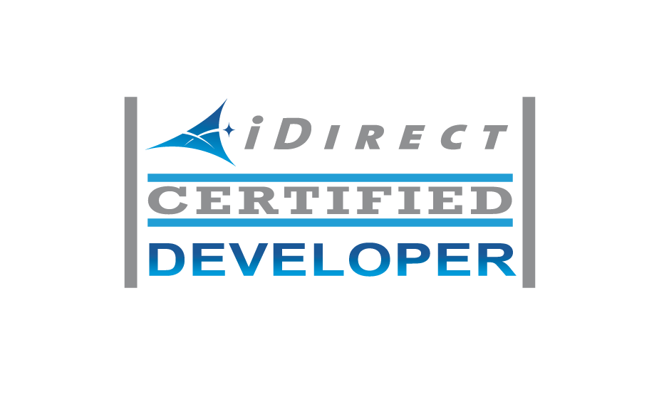 G&S SatConnect - iDirect certified developer logo